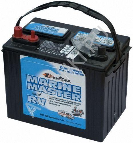 Аккумулятор тягового типа deka marine master dc31dt отлично подходит для мощного лодочного электромотора
